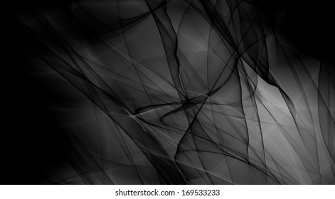 FANTASY black and white wide image texture wallpaper design