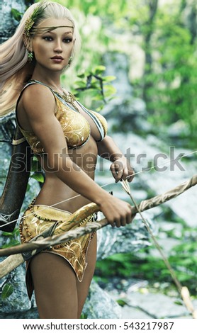 Sexy woodland elf redhead pics 820