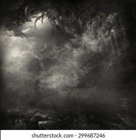 Fantasy grunge background