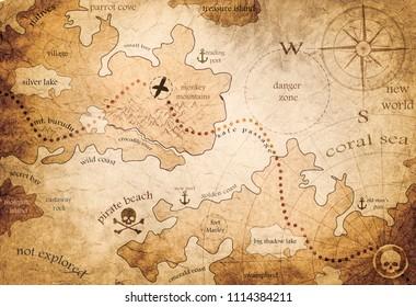 fantasy land map