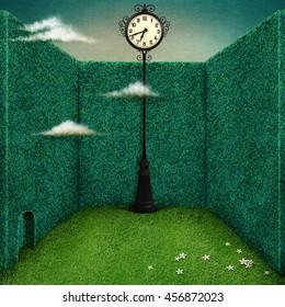Clock Art Images, Stock Photos & Vectors | Shutterstock