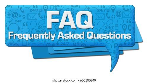 FAQ Comment Symbol Texture
