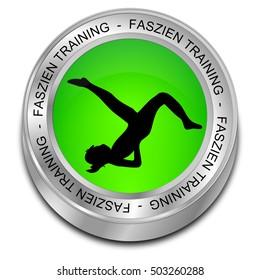 Fascia Training button - in german