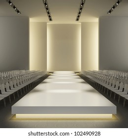 fashion empty runway