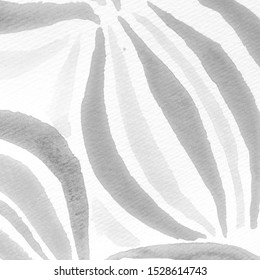 Fashion Ink Collection. White Dirty Texture IIlustration. Monochrome Ink Design Template. Silver Stainless Steel Background. Silver Tie And Dye.