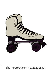 Fashionable and Chic Roller Skate