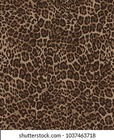 Fashionable seamless pattern. Colorful animal skin  print.