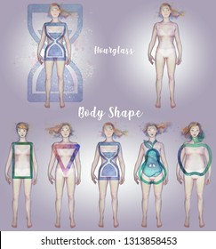 FEMALE BODY SHAPE - hourglass