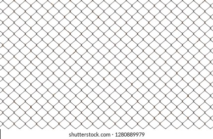 fence chainlink isolated 3d illustration  38x23cm 300dpi