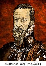 Fernando Álvarez de Toledo y Pimentel, 3er duque de Alba, Spanish soldier and statesman famous for his conquest of Portugal
