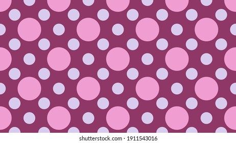 Festive and romantic background with a Festive and romantic background with a cheerful and pink pattern of polka dots that is suitable for Valentine's Day, fashionable textiles in retro style