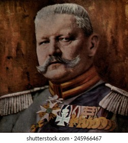 Field Marshall Paul von Hindenburg commanded German armies in East Prussia that defeated the Russians in Tannenberg in August 1914 and at the at the Masurian Lakes in 1915.