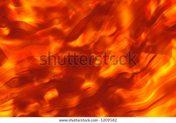 Fiery hot smooth background