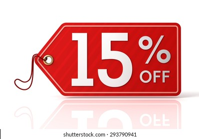 fifteen percent off sale