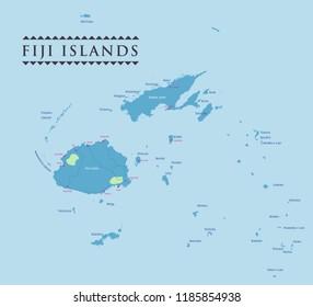 Fiji Map Images Stock Photos Vectors Shutterstock
