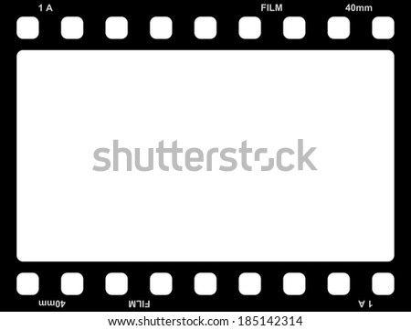 Film Frame Stockillustration 185142314 Shutterstock