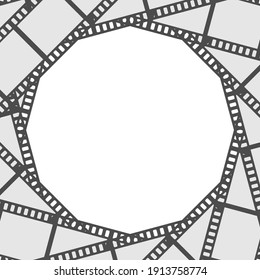 film reel abstract background for web