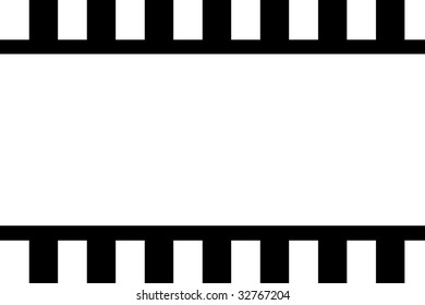 Film Strip Background Cinema Template Stock Illustration 32767204