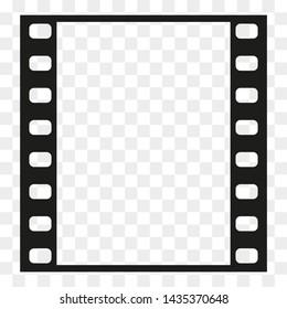 Film strip frame or border. Photo, cinema or movie negative.