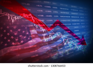 Financial market stock price