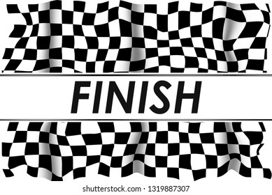 Finish Checkered Racing Flag Abstract Background and Wallpaper, sorts theme.
