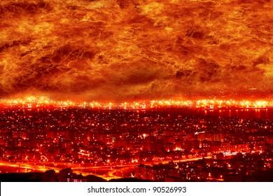 fire city, big fire, holocaust