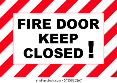 Keep Door Closed Images Stock Photos Amp Vectors Shutterstock
