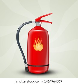 fire extinguisher illustration fire equipment