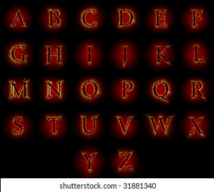 Fire font collection