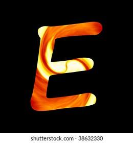 fire font: E