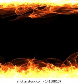 Fire Frame - Illustration