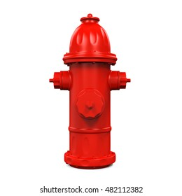 Fire Hydrant. 3D rendering