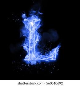 Blue Fire Letter Images Stock Photos Vectors Shutterstock