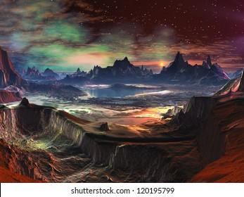 Fire-walk Canyon