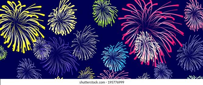 firework cartoon