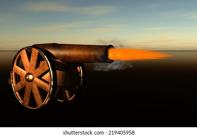 Cannon Firing Cannonball Images, Stock Photos & Vectors | Shutterstock