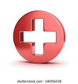 first aid 3d icon