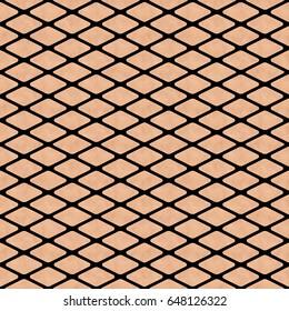 Fishnet stockings pattern on a pale skin texture seamless tile 3D illustration