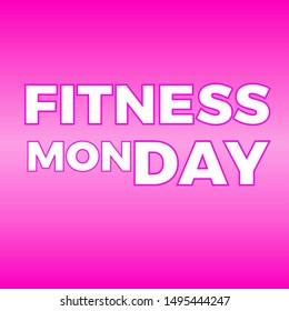 Monday Fitness Motivation Images Stock Photos Vectors Shutterstock