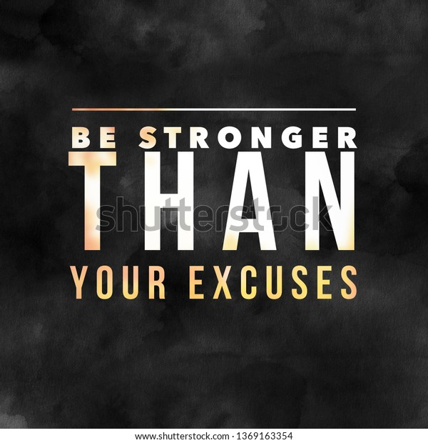Fitness Quotes Gym Workout Motivation Health Stock Illustration 1369163354