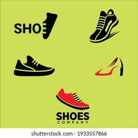 Five Creative Shoes Logo For Company Brand