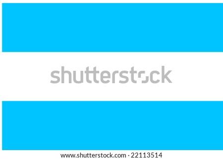 Flag Argentina National Country Symbol Illustration Stock