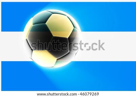 Flag Argentina National Symbol Illustration Clipart Stock