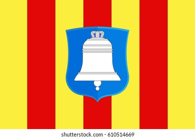 Flag of Ariege is a department in the Occitanie region of southwestern France.