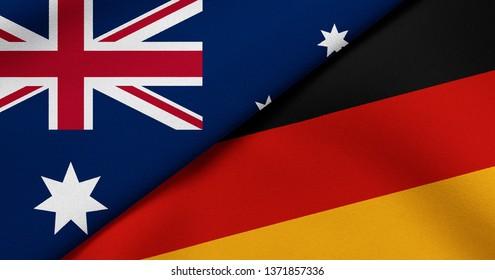 Flag of Australia and Germany