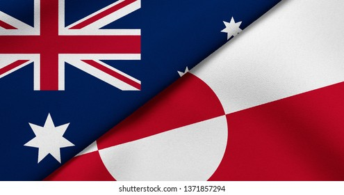 Flag of Australia and Greenland