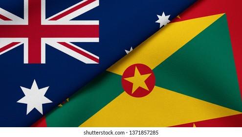 Flag of Australia and Grenada