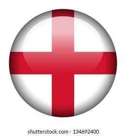 Flag button illustration - England