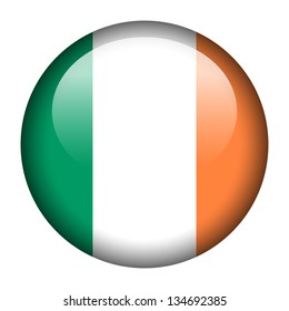 Flag button illustration - Ireland