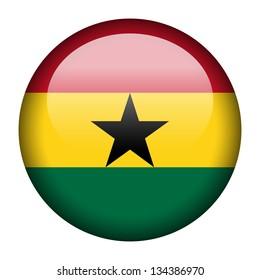 Flag button illustration - Nigeria